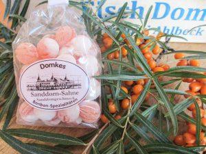 Domkes Sanddorn Sahne Bonbons
