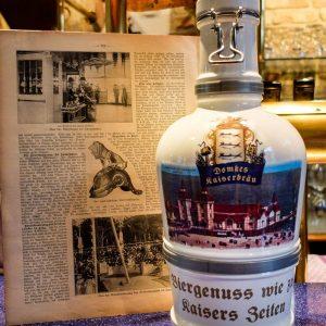 Historische Bierkrüge Swinemünde