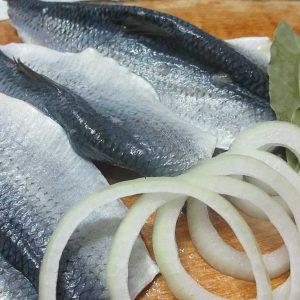 Marinierter Fisch