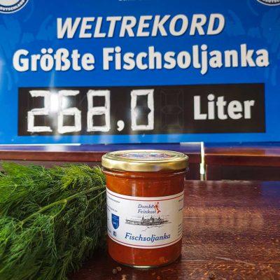 Domkes Weltrekord Fischsoljanka