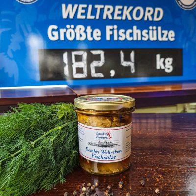 Domkes Weltrekord Fischsülze