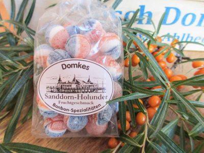 Domkes Sanddorn Holunder Bonbons