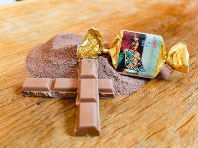 Kaiserhappen, Feinster Nougat mit Vollmilchschokolade
