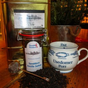 Sanddorn Vanille Sahne Tee
