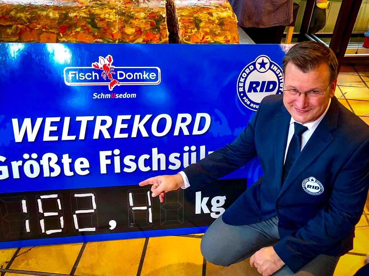 Weltrekord Fischsülze