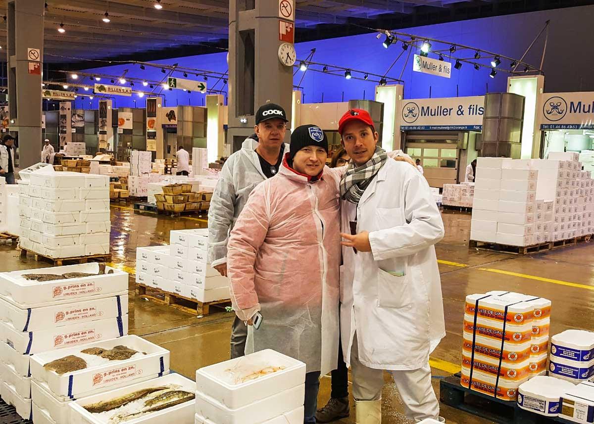 Rungis Markt in Paris