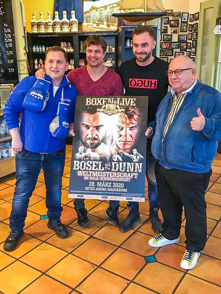 Boxweltmeister Dominic Bösel