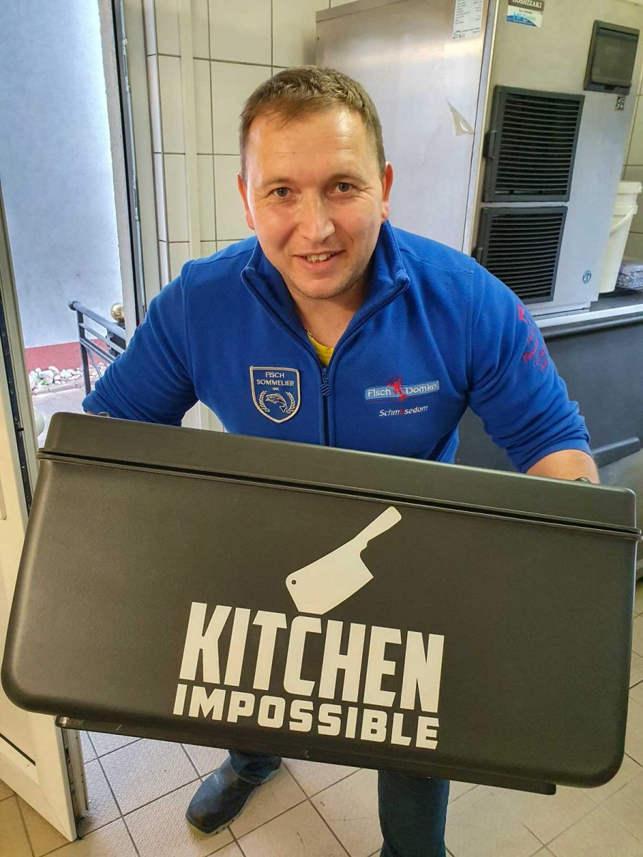 Kitchen Impossible bei Fischsommelier Andre Domke